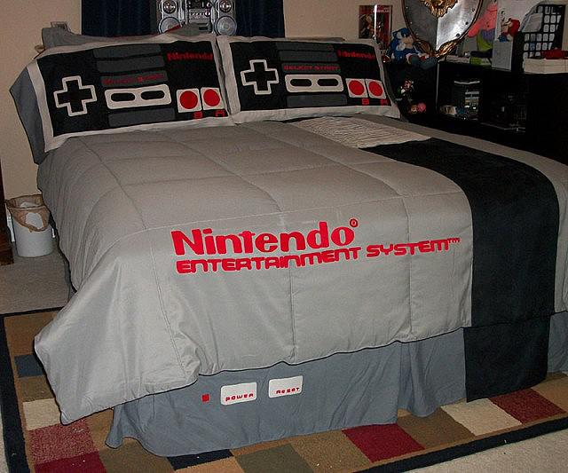Nintendo Bed Set