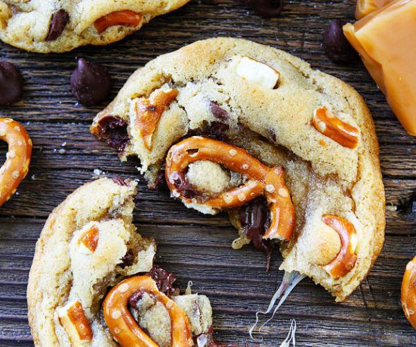 Pretzel Chocolate Chip Cookie