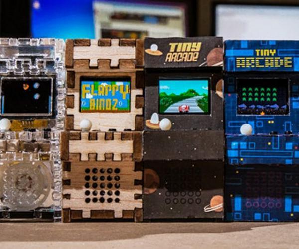 Tiny Playable Arcade Machines