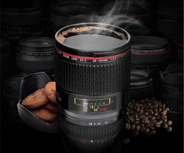 Camera Lens Coffee Mug