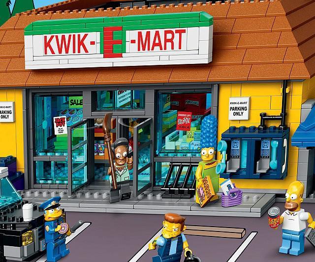 The Simpsons LEGO Kwik-E-Mart